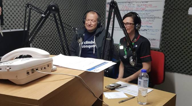 Telling My Story for Hospital Radio, and got 3 new tattoos.